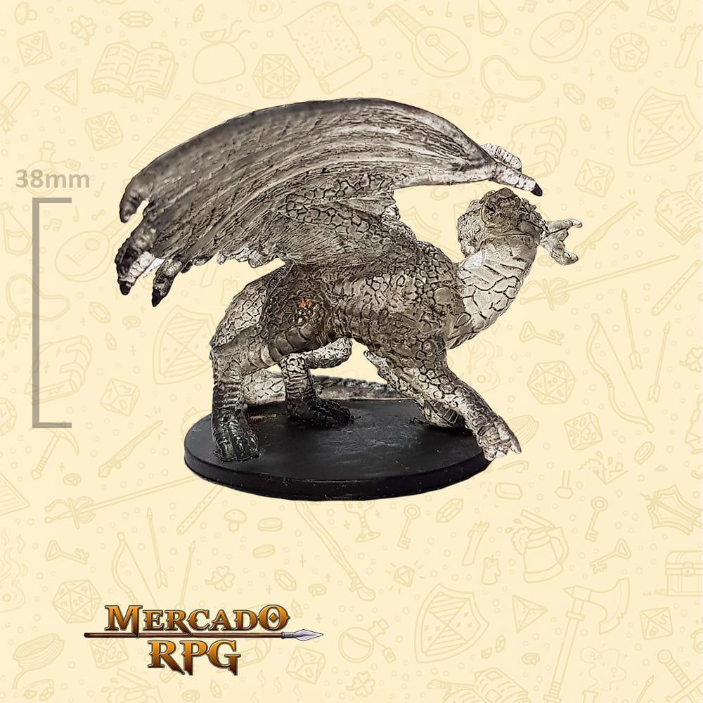 Large Shadow Dragon - Miniatura D&D - RPG