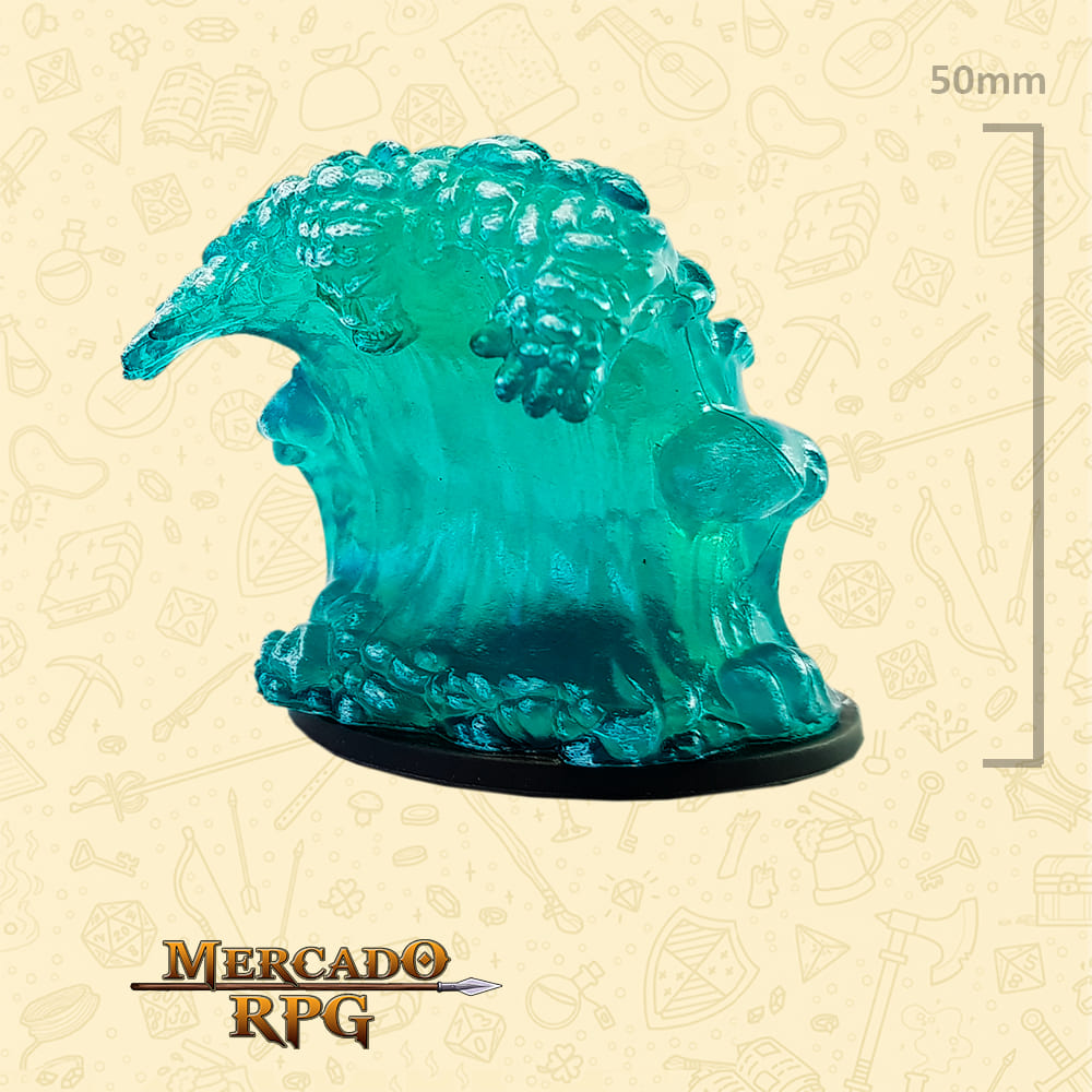 Large Water elemental - Miniatura D&D - RPG