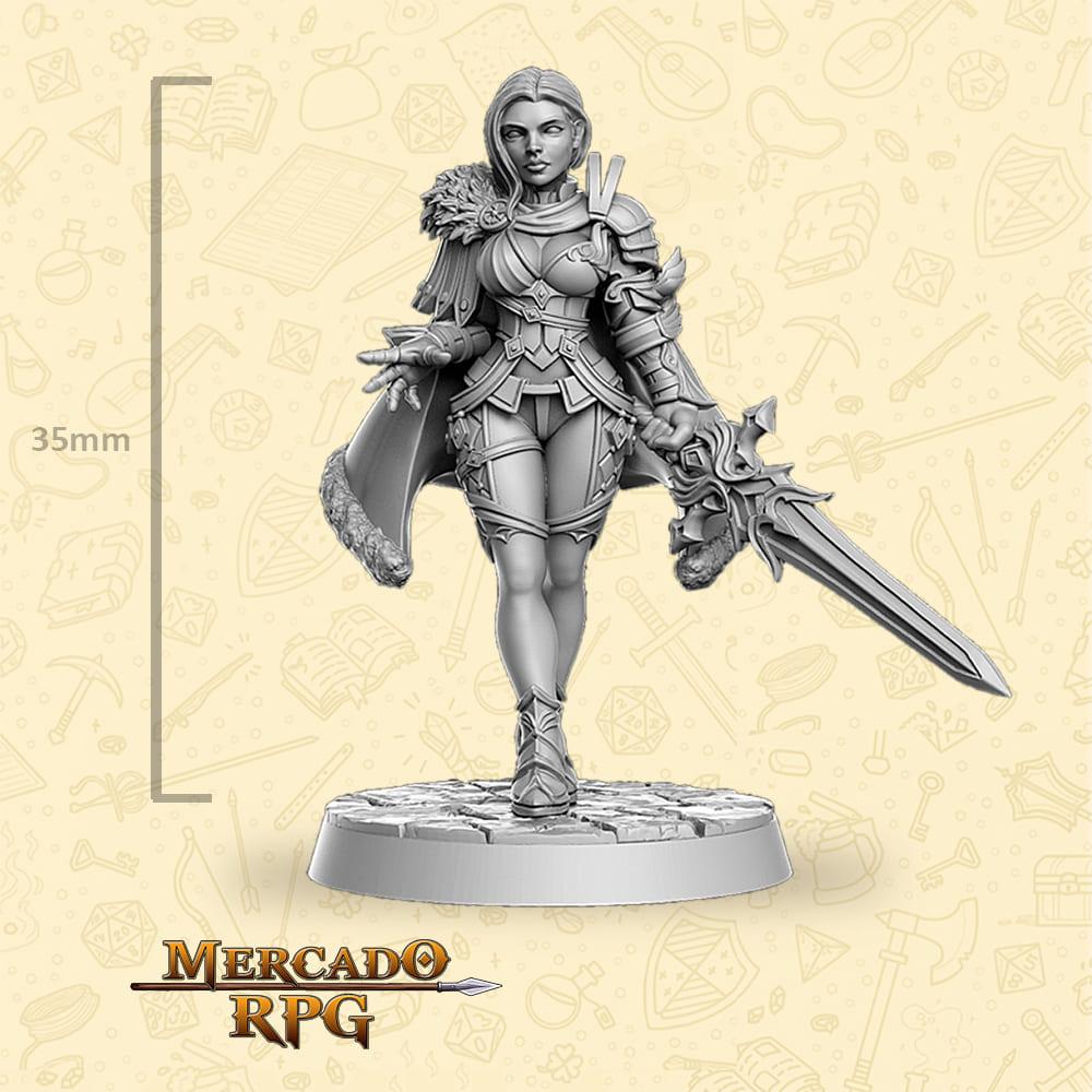 Leanne - Miniatura - RPG