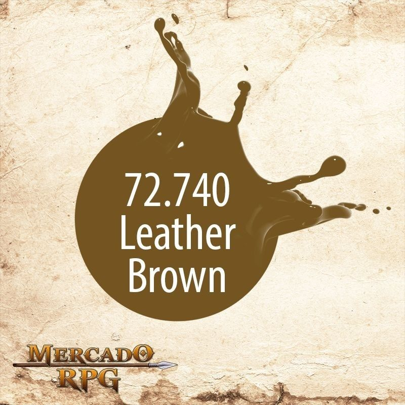 Leather Brown 72.740  - Mercado RPG