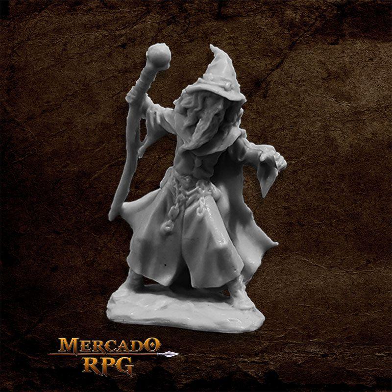 Lendil Blackroot, Wizard - Miniatura RPG