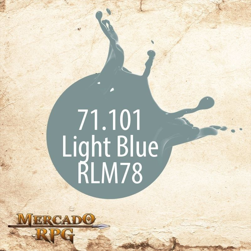 Light Blue RLM78 71.101  - Mercado RPG
