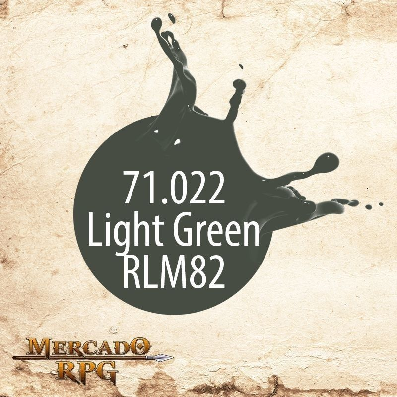 Light Green RLM82 71.022  - Mercado RPG