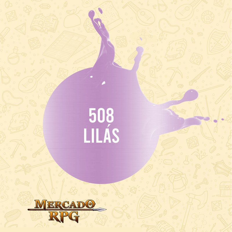 Lilás - 528 - Tinta Metal Colors 60ml - Acrilex - RPG