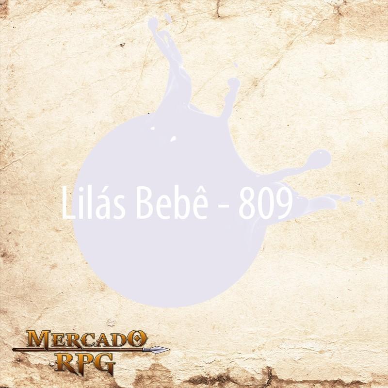 Lilás Bebê 809 - Tinta Acrílica Fosca Nature Colors 60ml - Acrilex - RPG