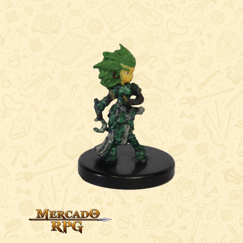Lini, Gnome Druid - Miniatura D&D - RPG