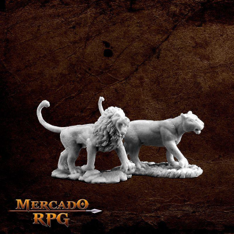 Lions - Miniatura RPG  - Mercado RPG