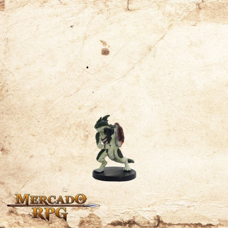 Lizardfolk Raider - Com carta  - Mercado RPG