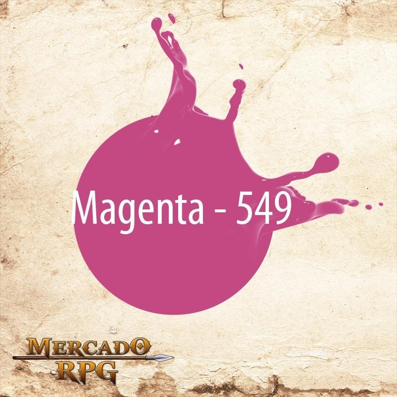 Magenta 549 - Tinta Acrílica Fosca Nature Colors 60ml - Acrilex - RPG