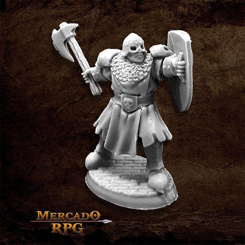 Maggotcrown Men at Arm A - Miniatura RPG