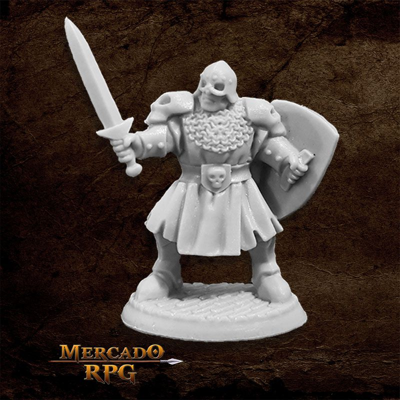 Maggotcrown Men at Arm C - Miniatura RPG
