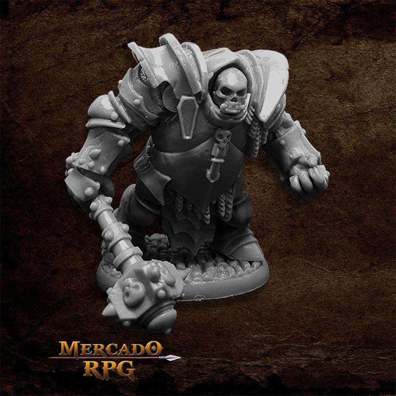 Bones Black Ogre Juggernaut - Miniatura RPG