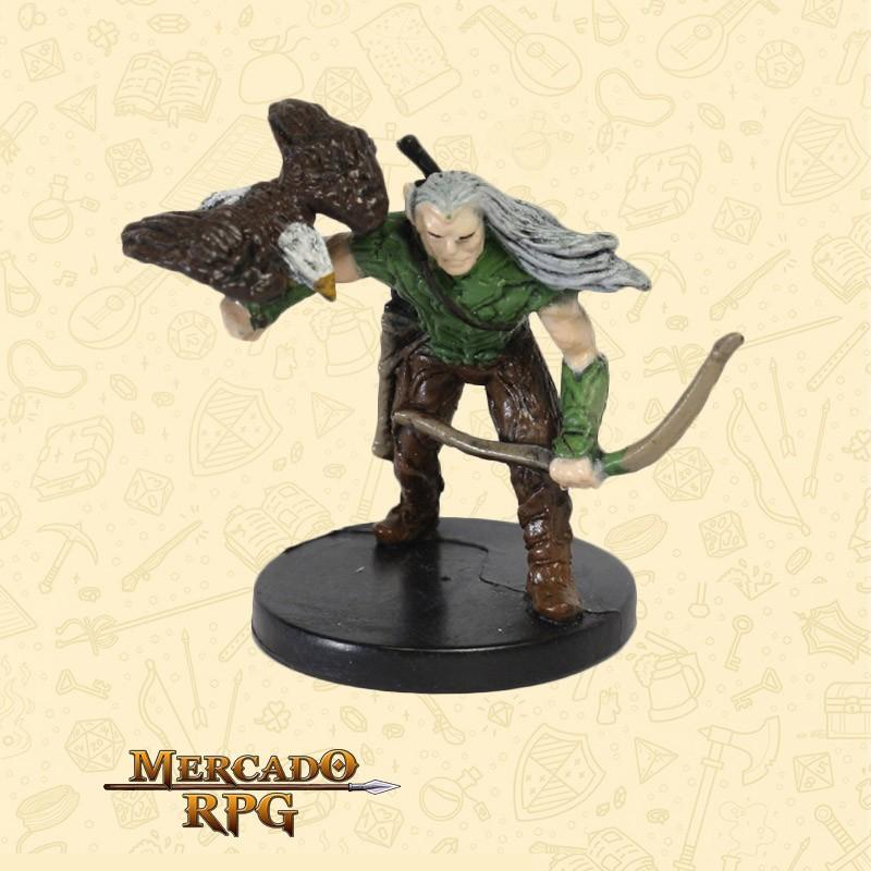 Male Elf Ranger - Miniatura D&D - RPG