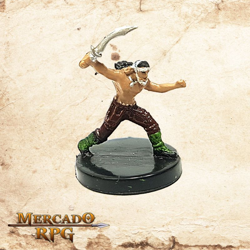 Male Halfling Barbarian  - Mercado RPG
