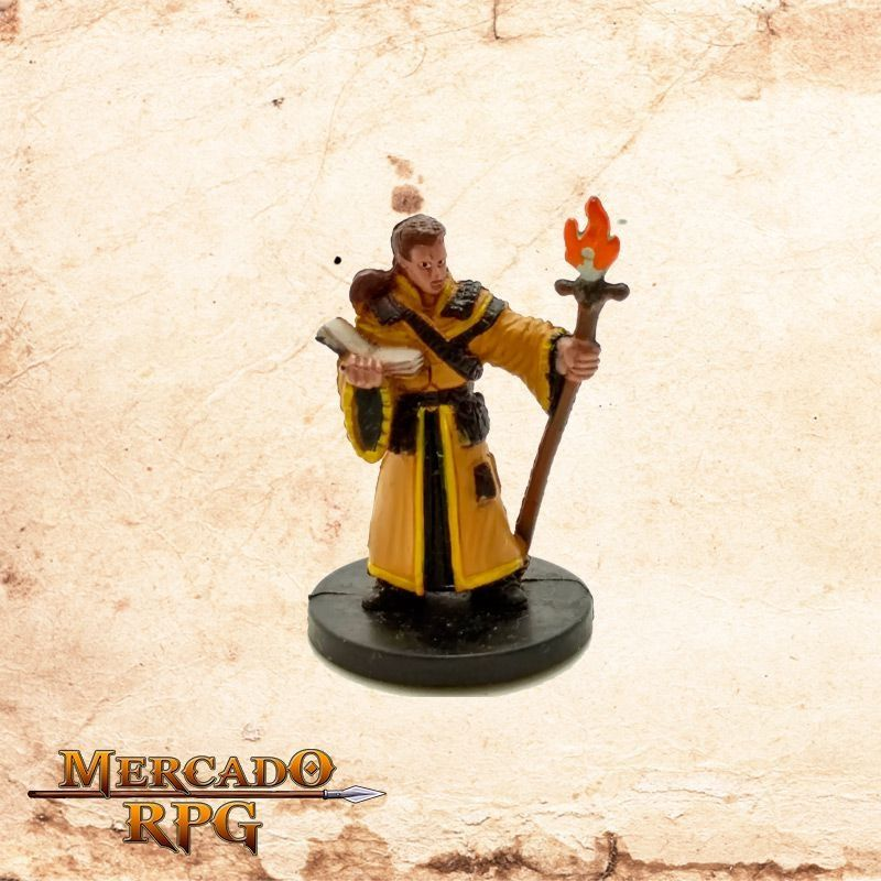 Male Human Wizard - Sem carta  - Mercado RPG