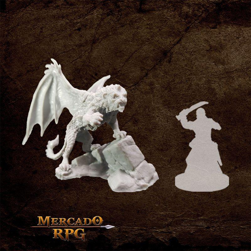 Manticore - Miniatura RPG  - Mercado RPG