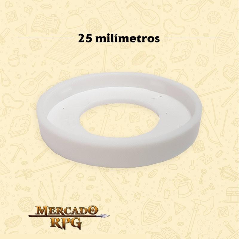 Marcador de Miniatura - Branco - RPG