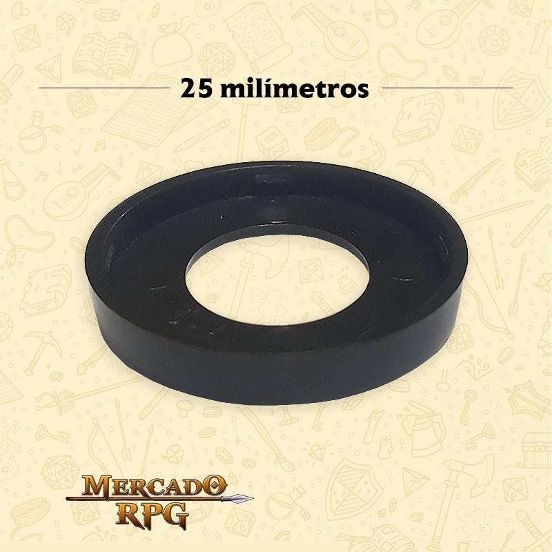 Marcador de Miniatura - Preto - RPG