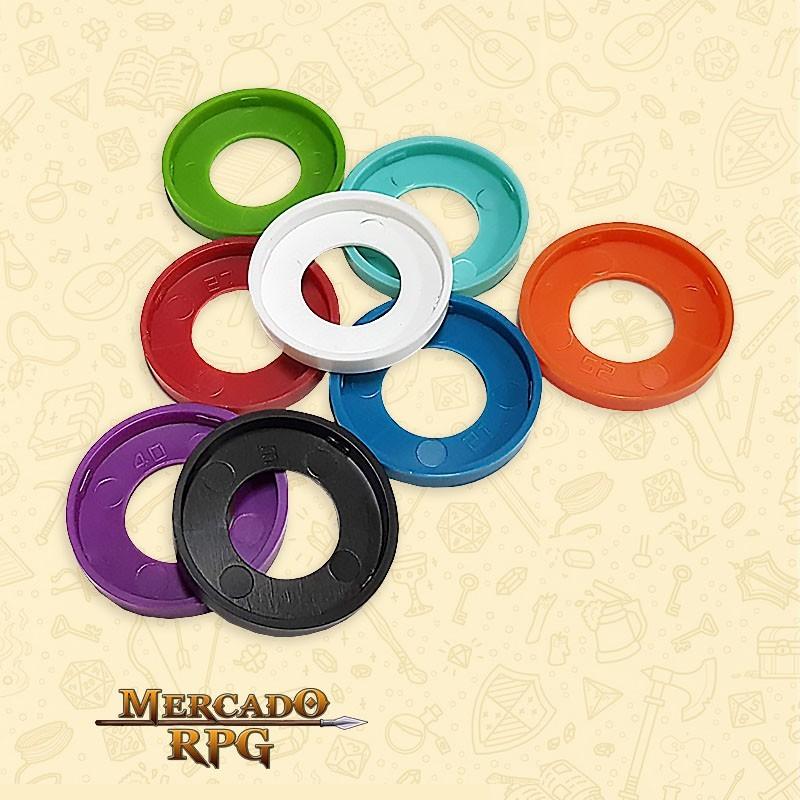 Marcadores de Miniaturas - RPG