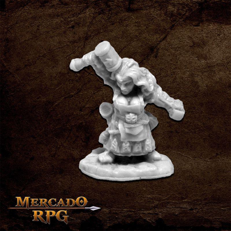 Margara, Dwarf - Miniatura RPG Reaper Bones 3