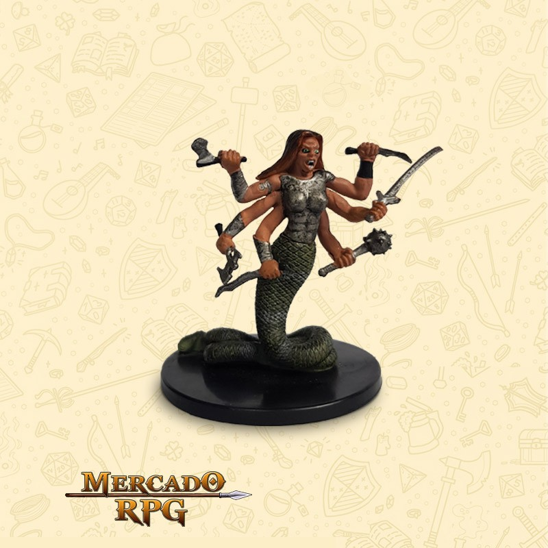 Marilith - Miniatura D&D - RPG