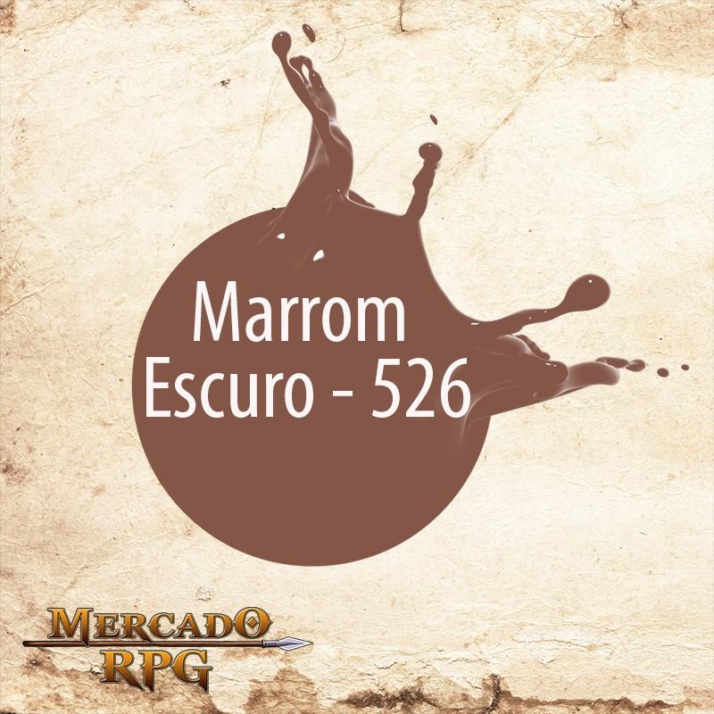 Marrom Escuro - 526  - Mercado RPG