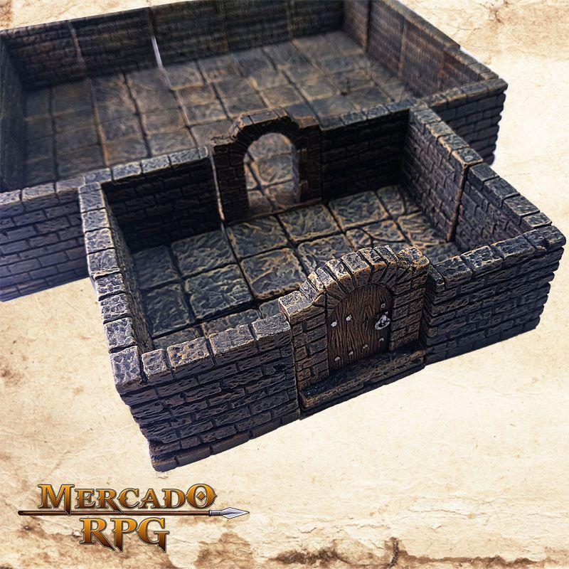 Masmorra A (Modular)  - Mercado RPG