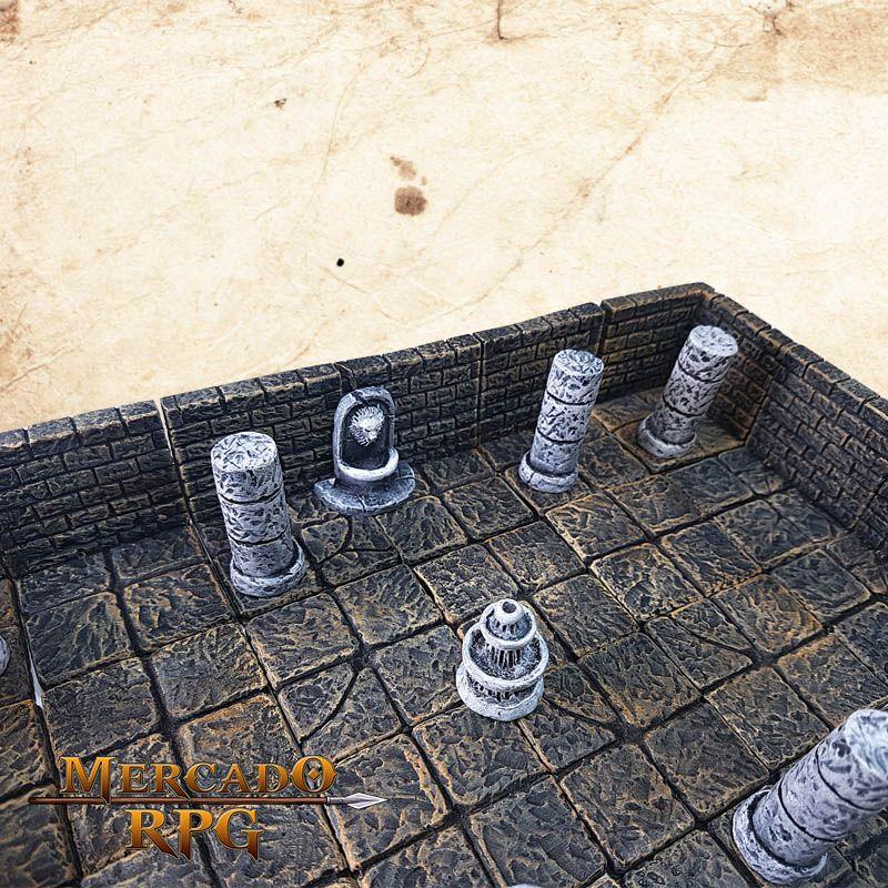 Masmorra D (Modular)  - Mercado RPG