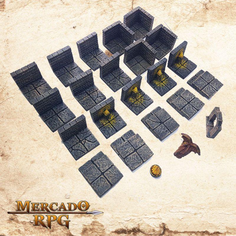Masmorra E (Modular)  - Mercado RPG