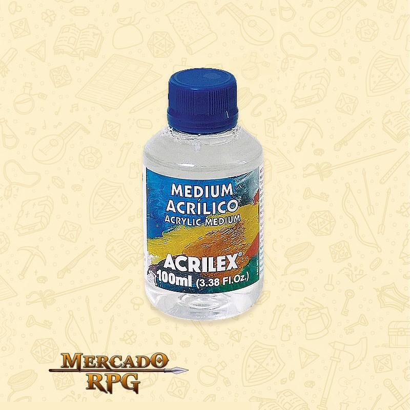 Medium Acrilico - 100ml  - Mercado RPG