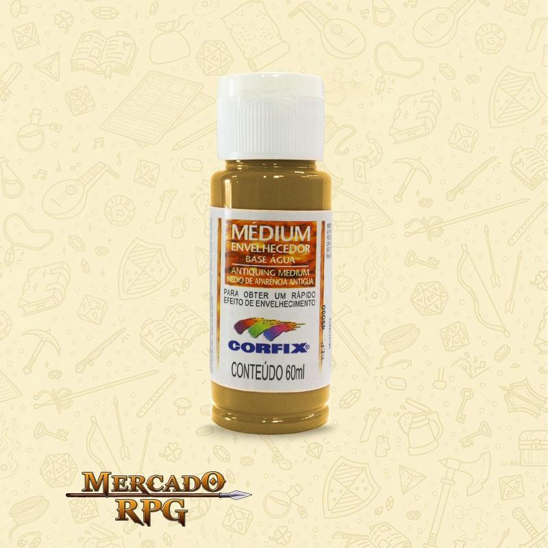 Medium Envelhecedor 60ml - Amarelo Ocre - Corfix - RPG