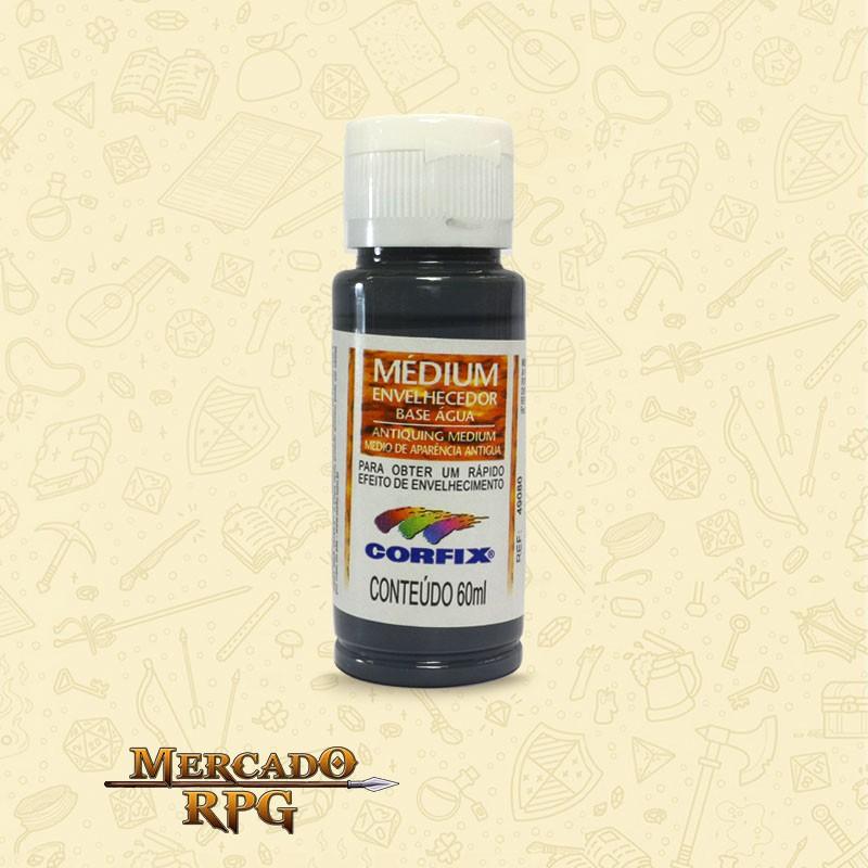 Medium Envelhecedor 60ml - Cinza Medieval - Corfix - RPG