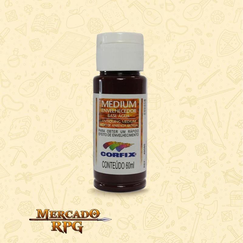 Medium Envelhecedor 60ml - Mogno - Corfix