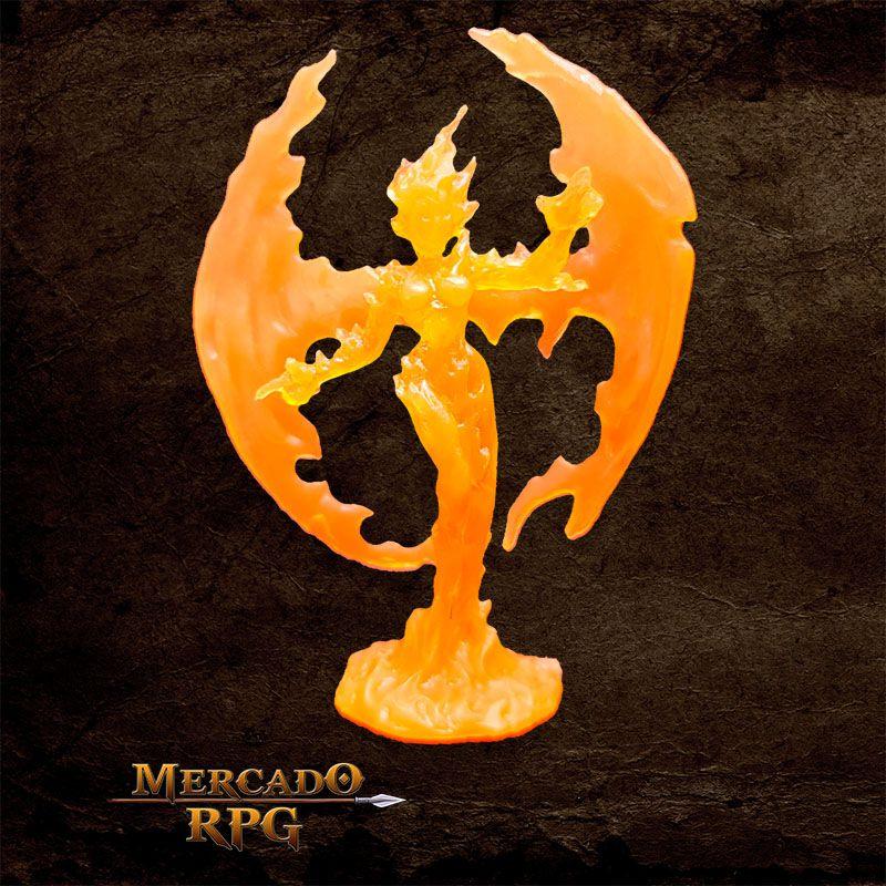 Medium Fire Elemental - Miniatura RPG