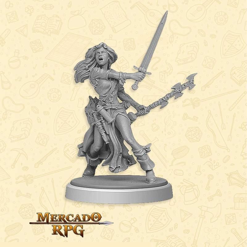 Megan - Miniatura RPG