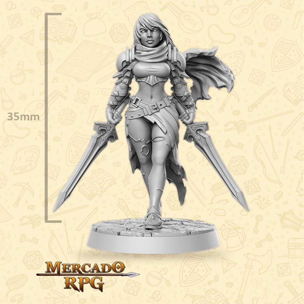 Melisa - Miniatura - RPG