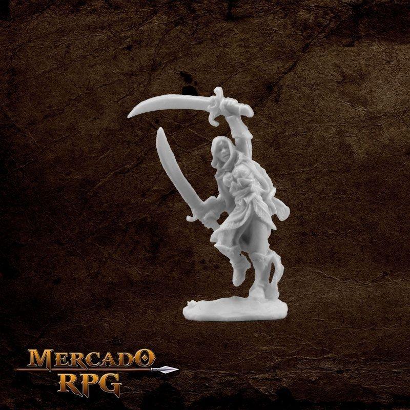 Mi-Sher, Dervish Warrior - Miniatura RPG  - Mercado RPG