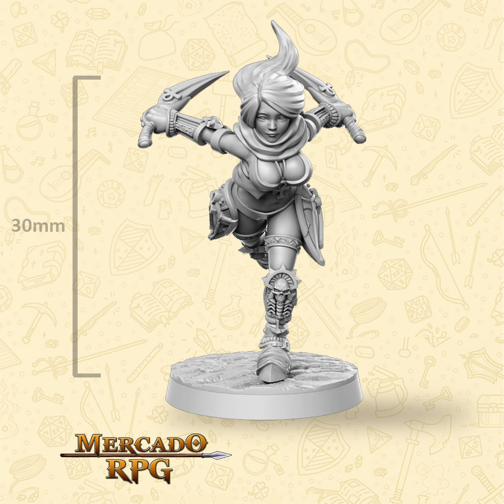 Mikasa - Miniatura - RPG