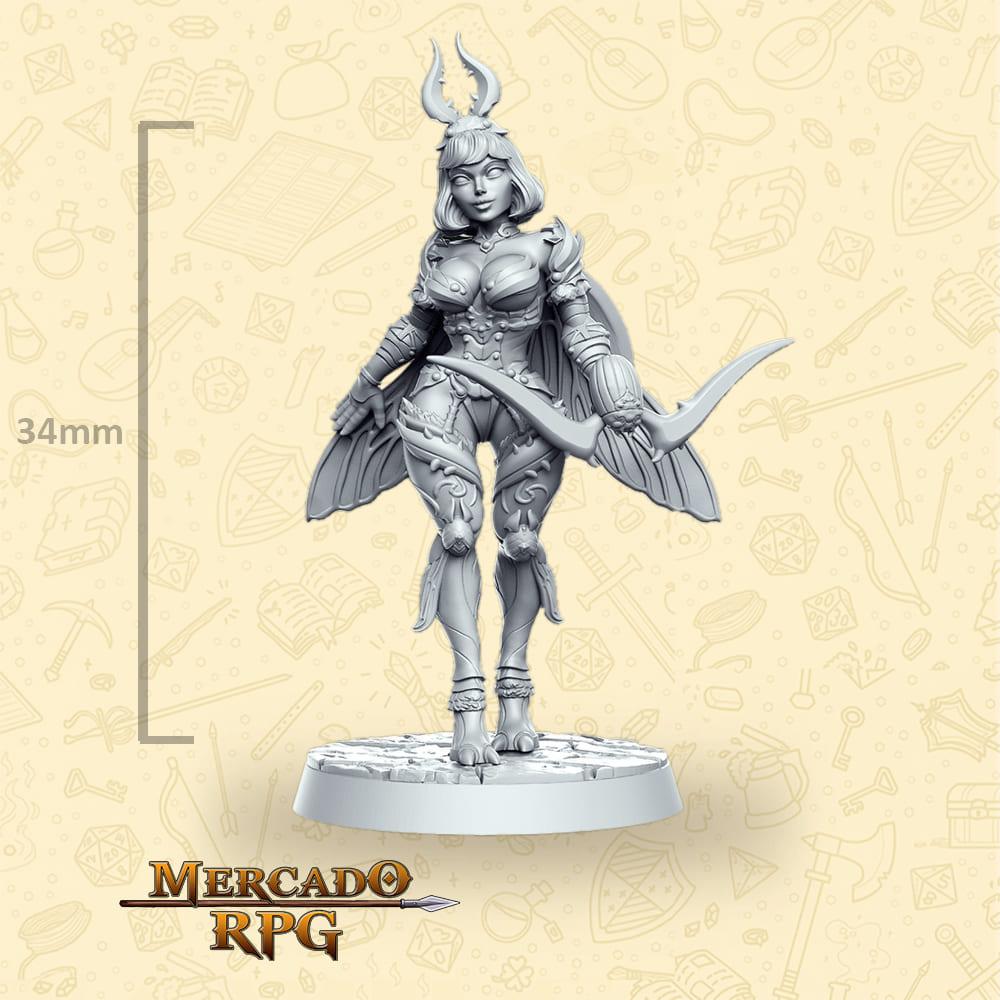 Mina Archer - Miniatura - RPG