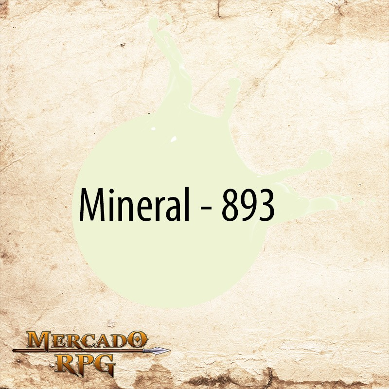Mineral - 893