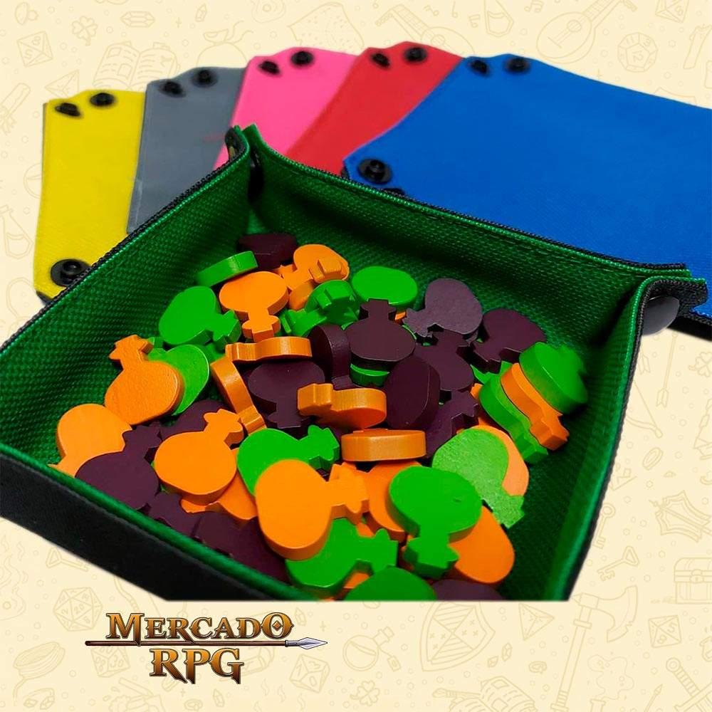 Mini Bandeja Organizadora de Tokens e Componentes - RPG