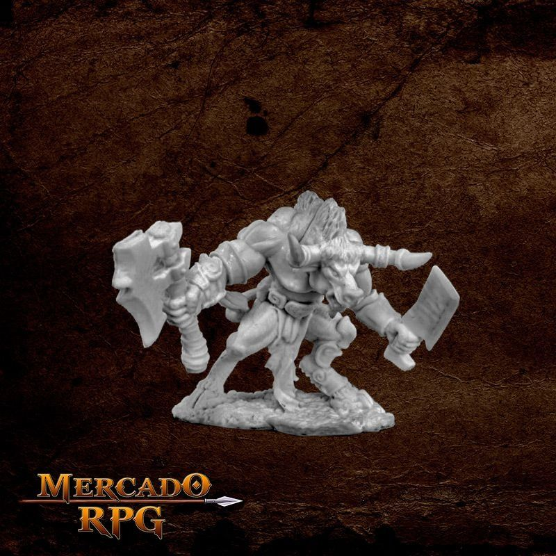 Minotaur Two Weapons  - Mercado RPG