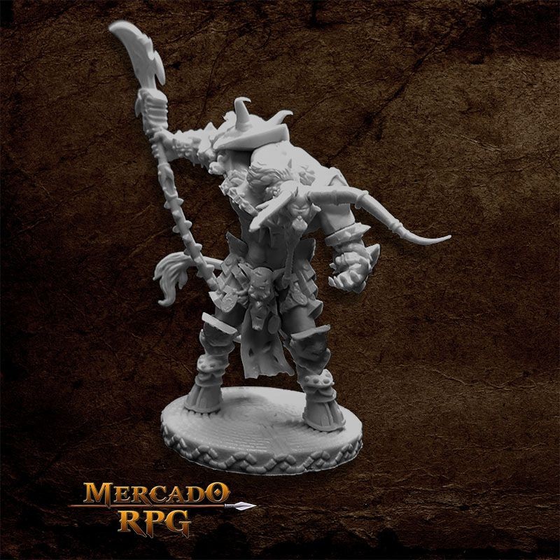 Minotaur Demon Lord - Miniatura RPG