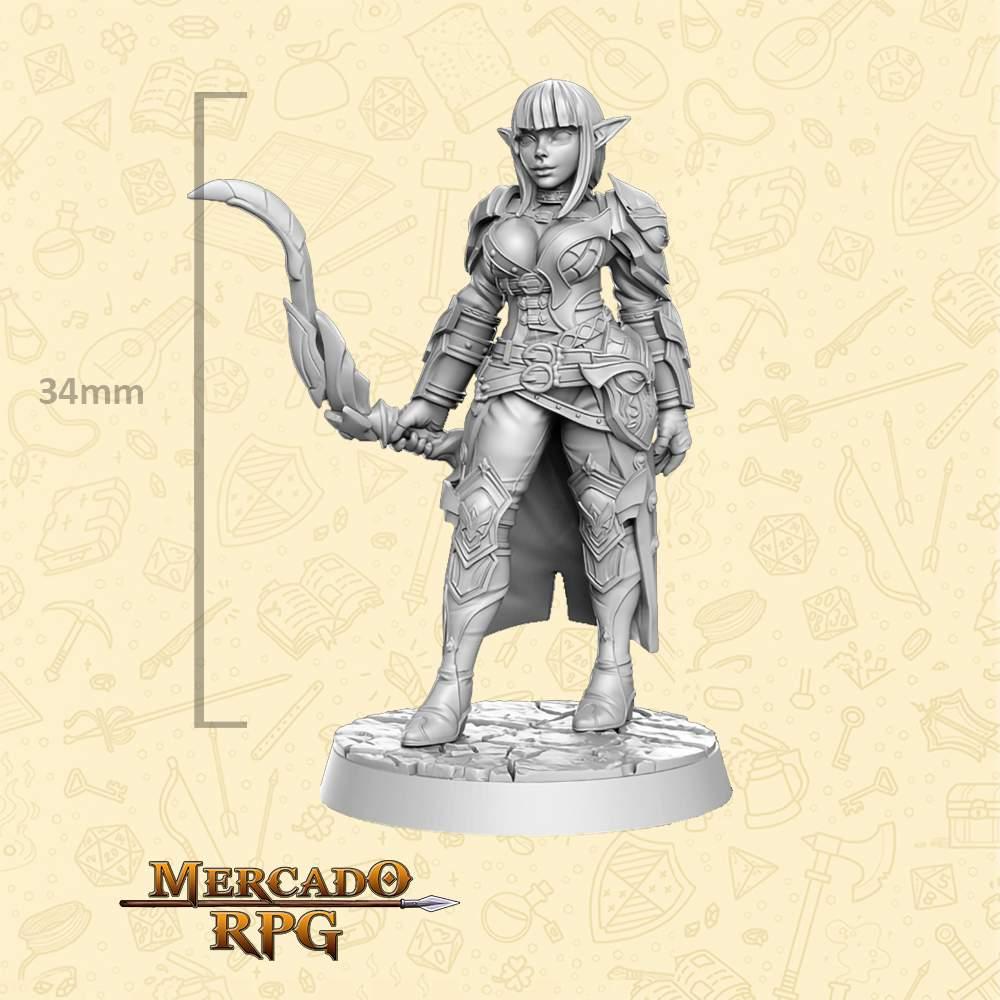 Mirvielle - Miniatura - RPG