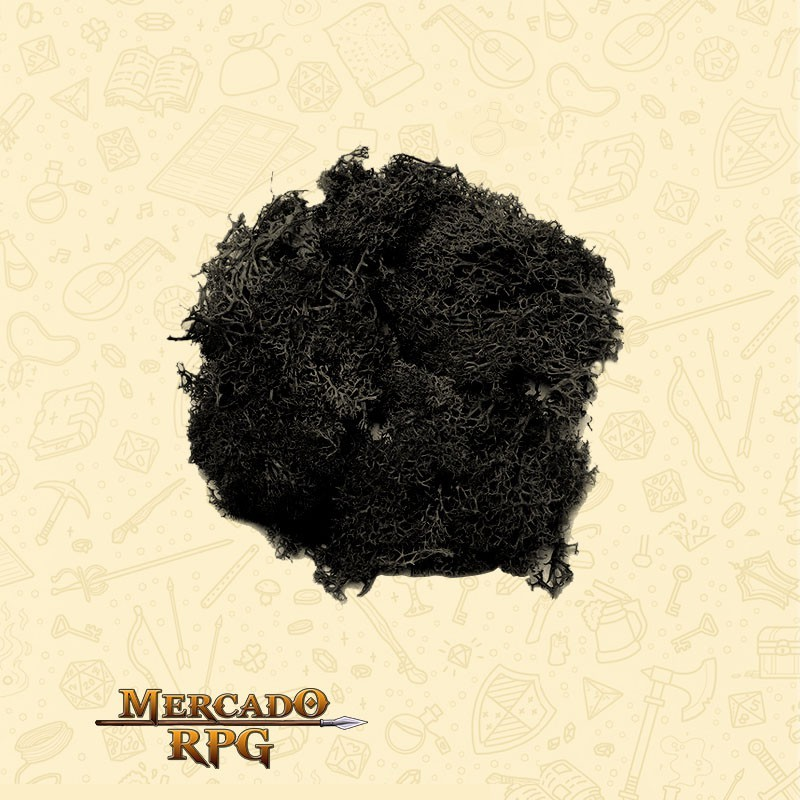 Musgo Artificial - Black - RPG
