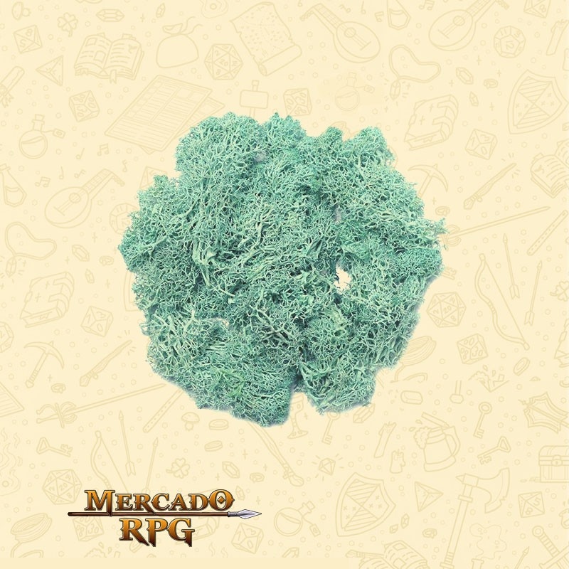 Musgo Artificial - Light Blue - RPG
