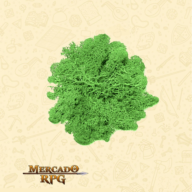 Musgo Artificial - Light Green - RPG