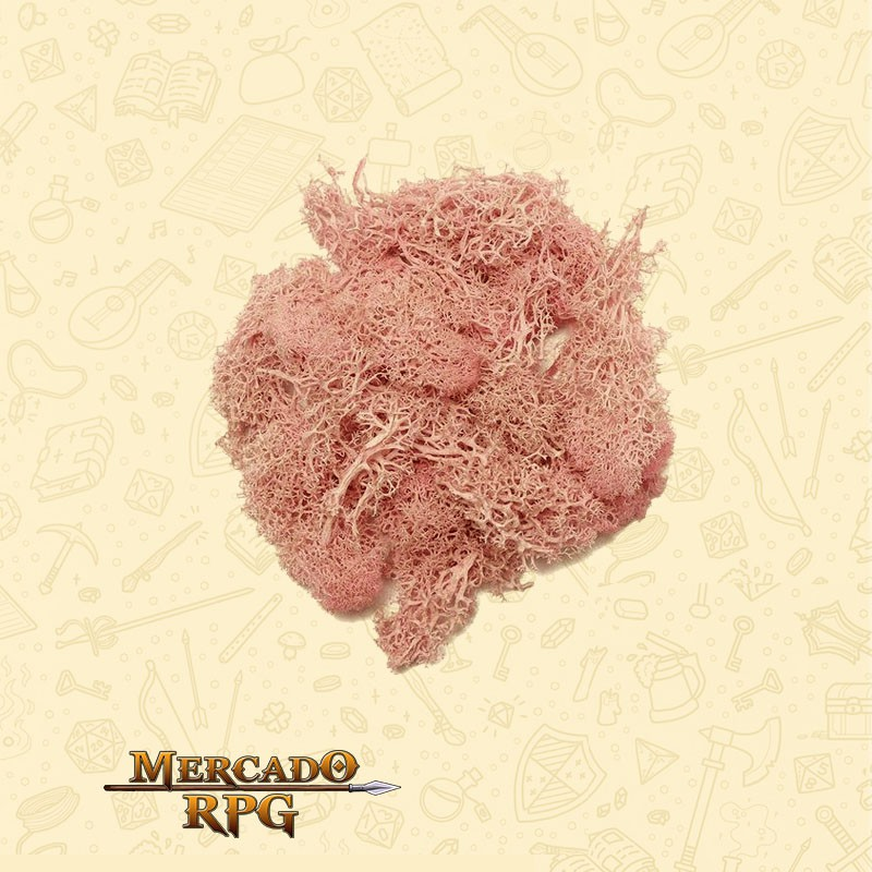 Musgo Artificial - Pink - RPG