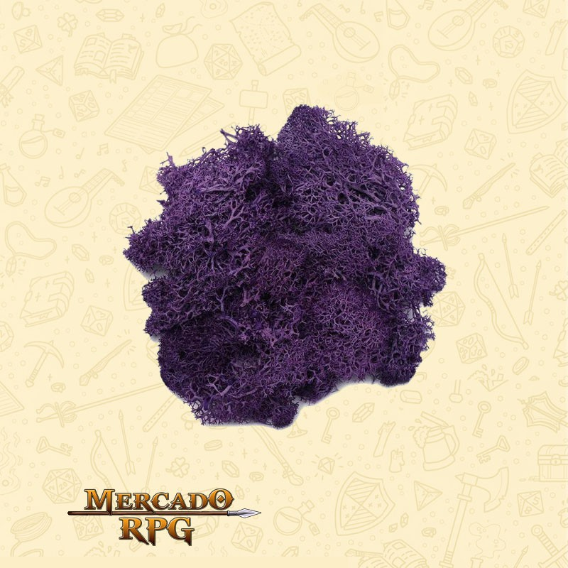 Musgo Artificial - Purple - RPG