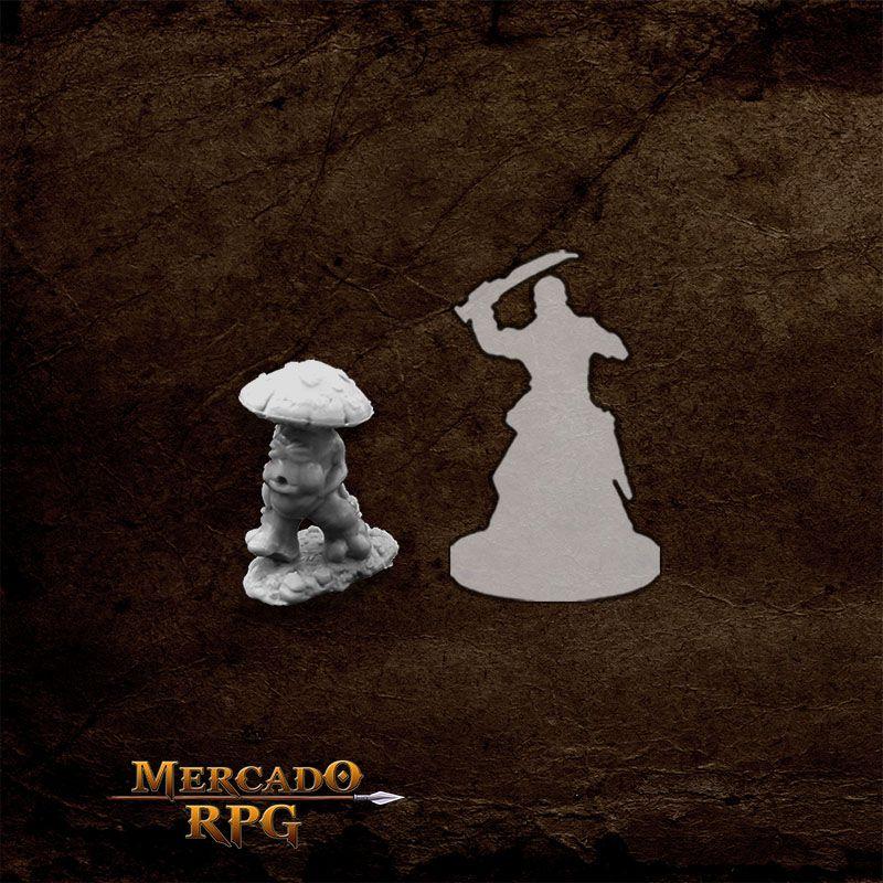 Mushroom Man C - Miniatura RPG  - Mercado RPG